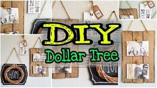 DIY Dollar Tree Farmhouse Decor & Rustic Decor