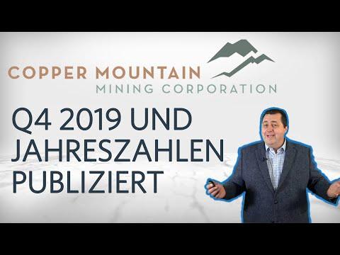 Copper Mountain Mining gibt Zahlen für das 4. Quartal und gesamt 2019 bekannt