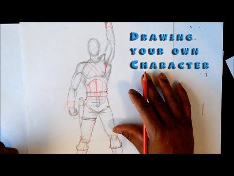 Drawing your own characters