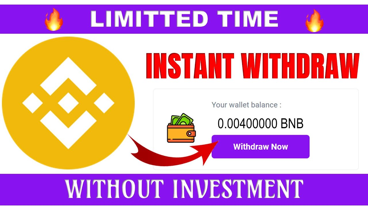 Free BNB direct to wallet without investment   Make Money Online   Earn 10$ Daily   Earn Free BNB thumbnail