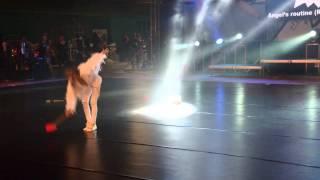 Terka Angel's routine - Tereza Rozkošová 11 let, choreografie Monika Nevrlá