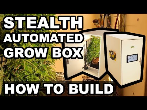 How to build an Automated LED Grow Box for 300$