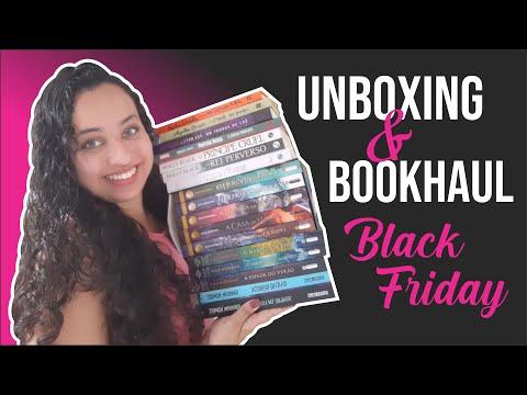 Unboxing & Bookhaul da Black Friday Submarino ? Parte 2 | Karina Nascimento | Paraíso dos Livros