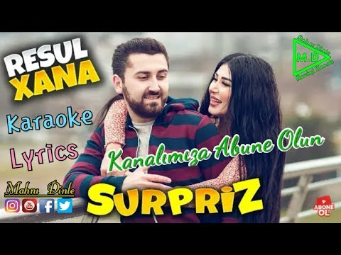 Resul Abbasov ft. Xanim – Surpriz Lyrics 2 Karaoke(RAP 2019 Baku – İstanbul) (Official Music Video)