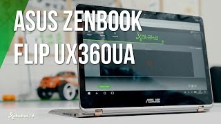 Asus Zenbook Flip UX360UA, ¿compite con iPad?