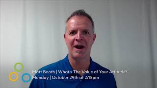 Thumbnail for What's the Value of Your Attitude at ISSA Show North America