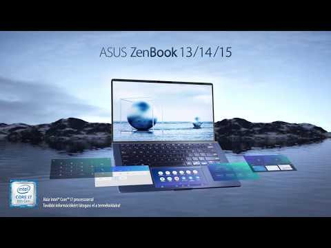 Asus ZenBook UX334FL-A4015T notebook + Windows 10,син