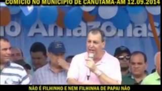 preview picture of video 'Omar Aziz mostra baixaria durante discurso em Canutama'