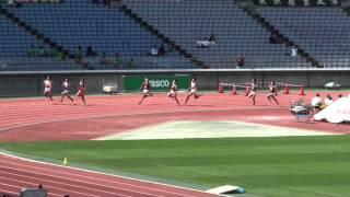 関東・関西IC男子200m比較