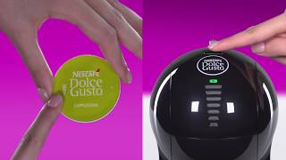 How to prepare a Cappuccino with your NESCAFE DOLCE GUSTO Lumio coffee machine