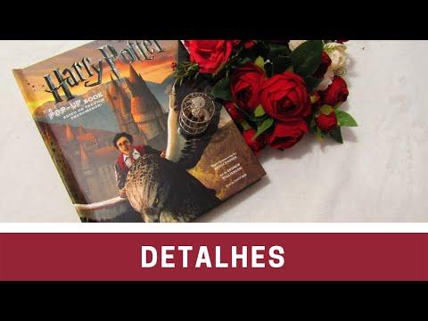 Edição em Detalhes - Harry Potter: A Pop-Up Book #MEA17