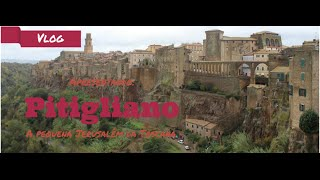 preview picture of video 'Vlog: Apresentando Pitigliano - a pequena Jerusalém na Toscana'