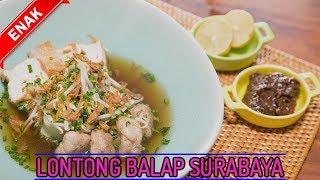Resep Mudah Membuat Lontong Balap, Kuliner Khas Surabaya Yang Enak Dan Lezat