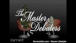 Marijuana VS. Crystal Meth Funny Debate Video Cartoon