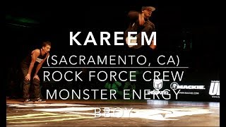 Bboy Kareem (RockForce Crew; Monster Energy Bboy) | #SXSTV Highlight Reel 2015-2016