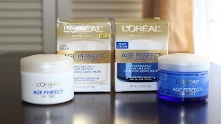 L'Oreal Age Perfect Day/Night Skin Care Collection Review