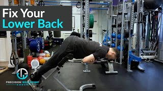 Fix Your Low Back Pain With These Stretches And Exercises (Gym And Home)