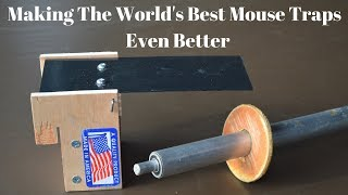"How To Make The World's Best Mouse Traps Even Better. ""Rolling Log & Walk The Plank Mouse Traps"""