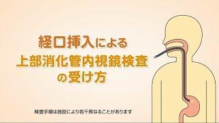 「経口挿入による上部消化管内視鏡検査の受け方」オリンパス「おなかの健康ドットコム」