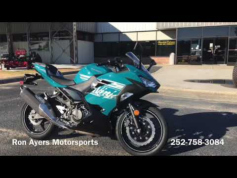 2021 Kawasaki Ninja 400 ABS in Greenville, North Carolina - Video 1