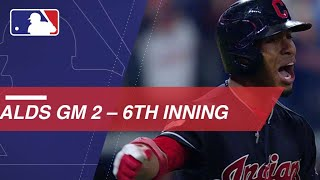 Watch Francisco Lindor's grand slam in the full Indians' 6th inning in ALDS Game 2