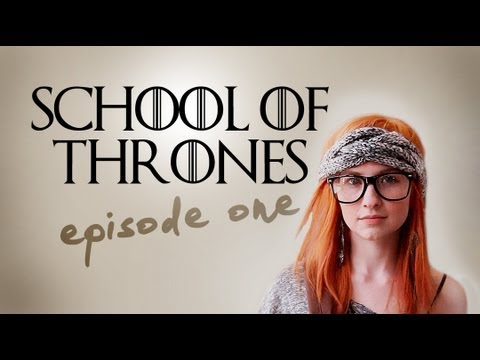 Game Of Thrones Set As A '90s High School Comedy