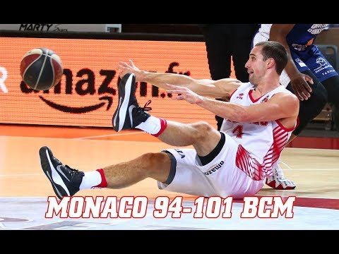 Pro A — Monaco 94 - 101 Gravelines — Highlights