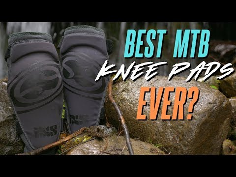 BEST MTB KNEE PADS EVER? // IXS Carve Knee Pads - Review