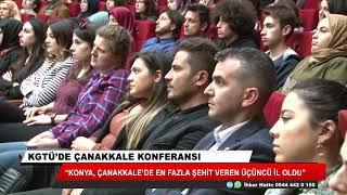 KGTÜ'de Çanakkale konferansı