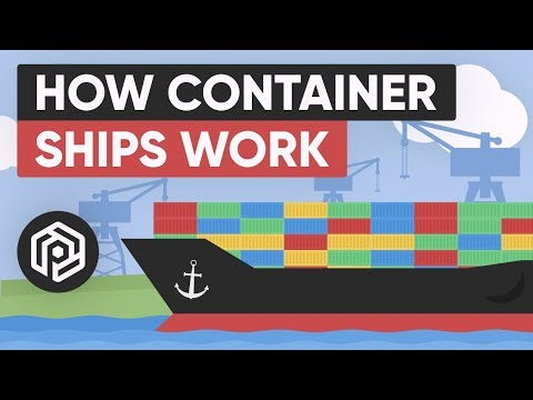 , title : 'How Container Ships Work