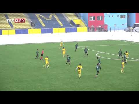 Ağrıspor 3 - 0 Erciş Gençlik Belediye Spor Geniş Özeti