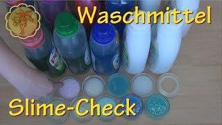 Slime-Check: 11 Flüssig-Waschmittel im Test