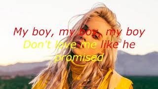 my boy- Billie Eilish (clean lyrics)