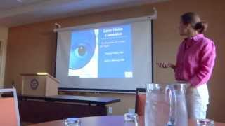 preview picture of video '2013-7-25 Watertown Sunrise Rotary Program - Center for Sight'