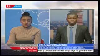 News Centre - 22nd November 2016 - Timothy Otieno reports on EALA Agenda in Nairobi