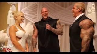 Bodybuilders RICH PIANA And SARA PIANA Amazing Wedding in 2015