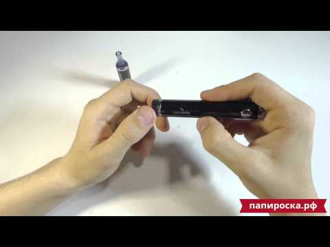Электронная сигарета VapeOnly vPlum (вариватт, 1000 mAh)  - видео 1