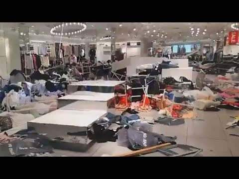 Protesters trash H&M stores in South Africa over 'racist' ad