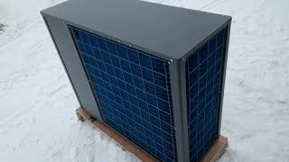 Обзор трех тепловых насосов на 10, 18 и 36 кВт тепловой мощности.