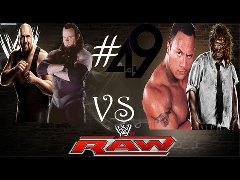 WWE 13 - Greatest Raw Matches Of All Time - Rock 'N' Sock vs The Undertaker and The Big Show (#49)