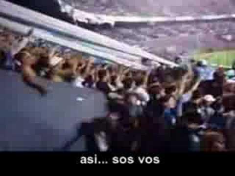 """""""Canciones de Racing (Subtitulos) - y dale alegria mi corazon"""" Barra: La Guardia Imperial • Club: Racing Club • País: Argentina"""