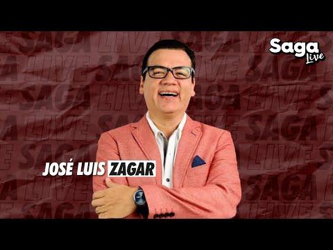 José Luis Zagar con Adela Micha