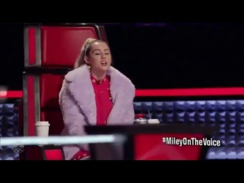 Miley Cyrus's vocals on The Voice