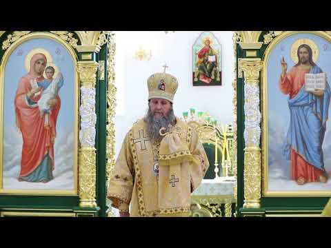 Митрополит Даниил совершил Литургию в новом Свято-Троицком соборе Кургана