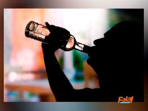 Descrição de dependência alcoólica