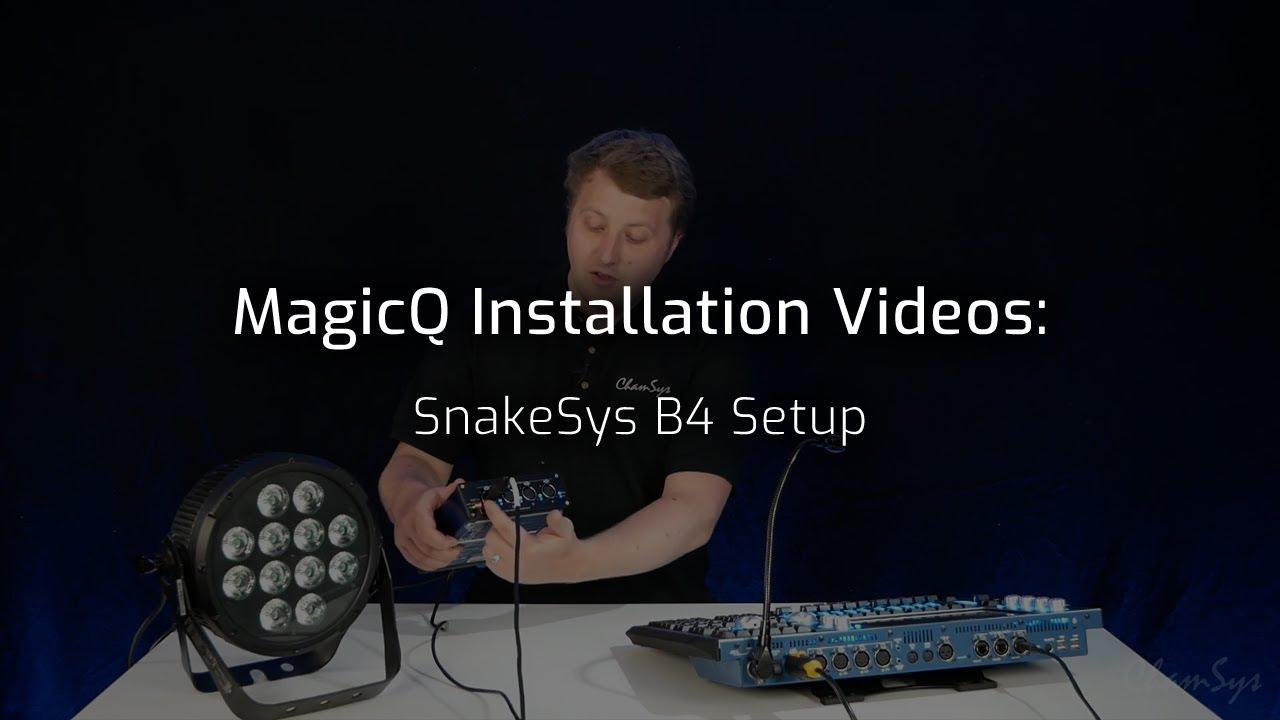 SnakeSys B4 Setup