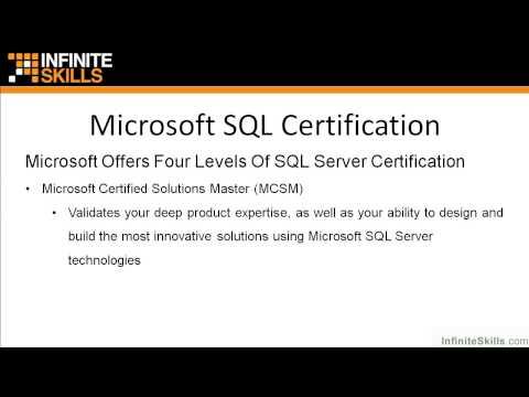 Microsoft SQL Server Exam 70-461 Tutorial | Microsoft SQL ...