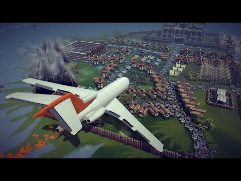 Airplane Crashes, Shootdowns, Midair Collisions and More #3   Besiege