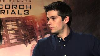 Дилан О'Брайен, MAZE RUNNER: THE SCORCH TRIALS Cast Q&A - Dylan O'Brien & Kaya Scodelario