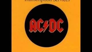 AC/DC - Soul Stripper (BBC Transcription Services)